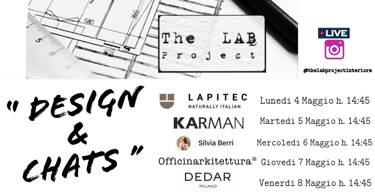 Ciclo di incontri Design & Chats